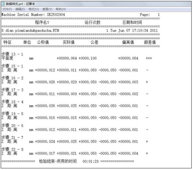 三次元测量设备数据采集步骤1