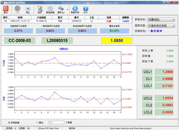 spc系统继电器自动测试生产线案例